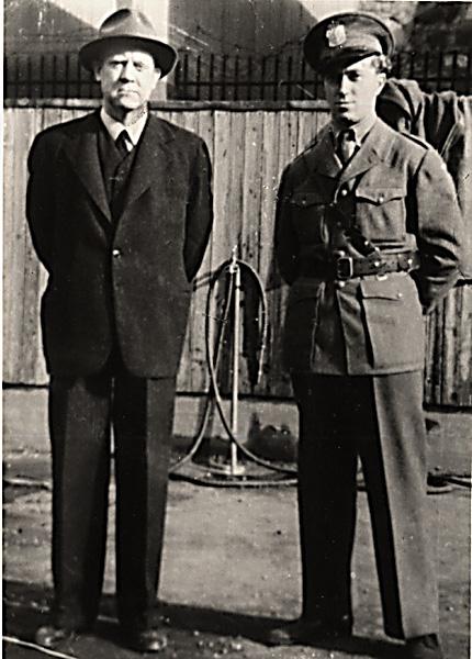 Quisling under arrest på Akershus Festning